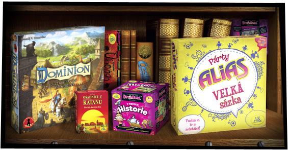 Speciální nabídka pro knihovny - balíček her od ALBI