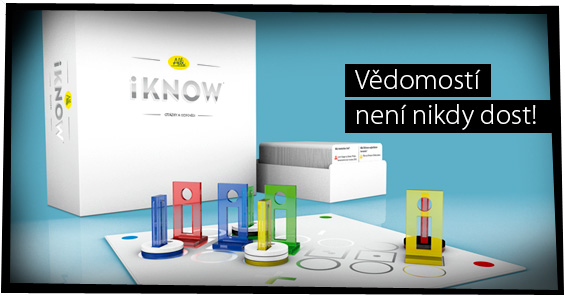 Důvtipná kvízová hra iKnow, která prověří vaše znalosti i schopnost odhadnout soupeře!
