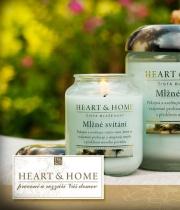 Heart & Home - luxusní svíčky