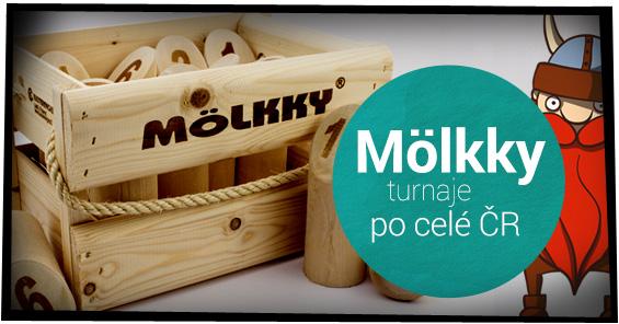 Seznam turnajů Mölkky s podporou ALBI