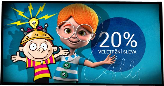 Veletržní 20% sleva na vše od ALBI - For Toys a Dětská planeta v Praze