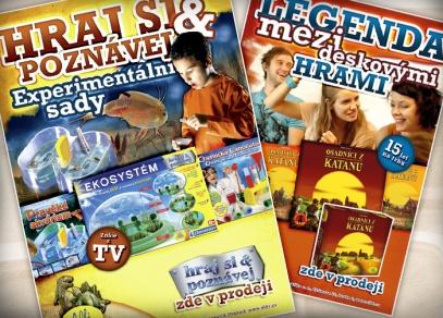 Naše výrobky v reklamě