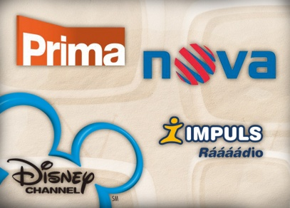 TV NOVA, TV PRIMA, DISNEY CHANNEL, Rádio IMPULS - média, ve kterých inzerujeme