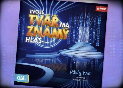 Tvoje tvář má známý hlas - týmová párty hra podle pořadu TV Nova od Albi