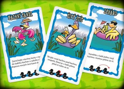Střelené kachny - populární karetní hra od Albi