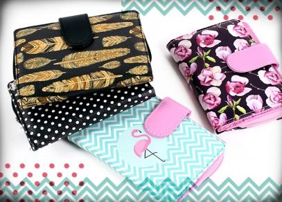 Vyberte si z elegantních a stylových motivů na peněženkách od ALBI