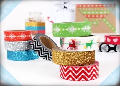 Tvoření s washi páskami je vhodné i pro děti