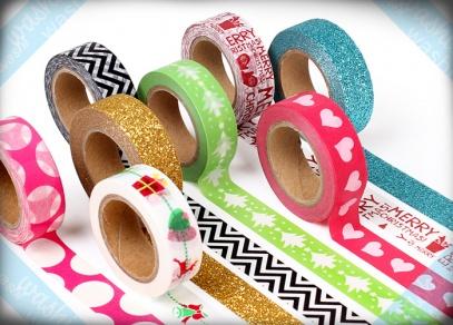 Dekorační samolepící washi pásky od ALBI