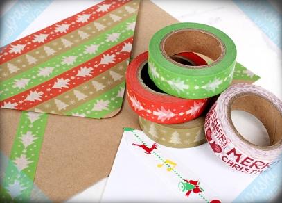 Vyberte si i z vánočních motivů na našich dekorativních páskách