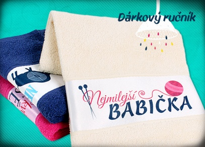 Ručníky ze 100% bavlny ve třech barevných provedeních