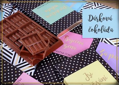 Dárková mléčná čokoláda od ALBI