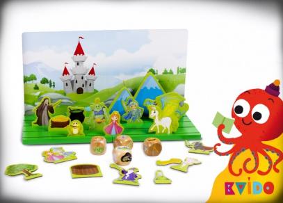 Kvído - Pohádkové divadlo - hry pro děti od Albi