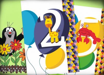 Dětská přání v mnoha designech - přání od ALBI
