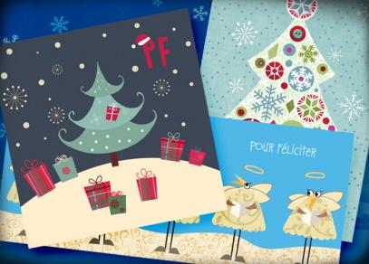 Nabízíme také řadu novoročních přání v různém provedení