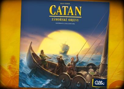 Catan - Zámořské objevy od Albi
