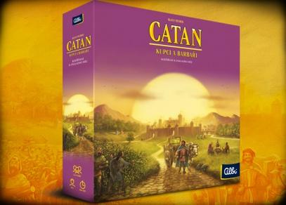 Catan - rozšíření Kupci a barbaři od Albi