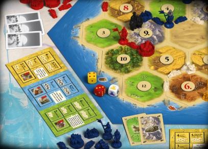 Catan - rozšíření Města a rytíři od Albi