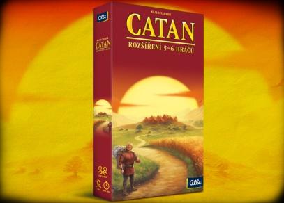 Catan - Rozšíření pro 5 - 6 hráčů