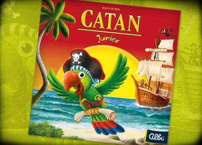 Catan Junior - dětská verze Osadníků z Katanu od Albi