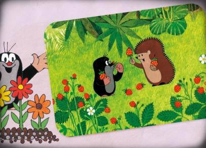Krtečkova dobrodružství na pohlednicích pro děti