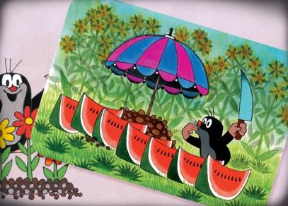 Popřejte k svátku nebo narozeninám přáníčky a pohlednicemi s Krtečkem pana Milera