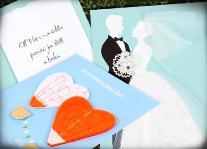 Vaše dobrodružství právě začíná - luxusní svatební přání od ALBI