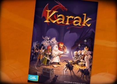 Karak - česká hra na hrdiny od Albi