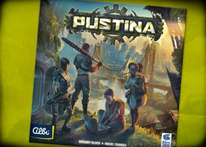 Pustina - strategická hra od Albi