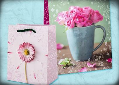 Něžné květinové motivy