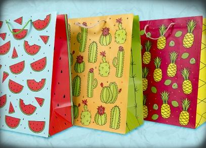 Jednoduché letní designy na taškách od ALBI