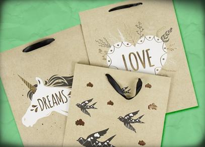 Darujte originálně a jednoduše zabalené dárky