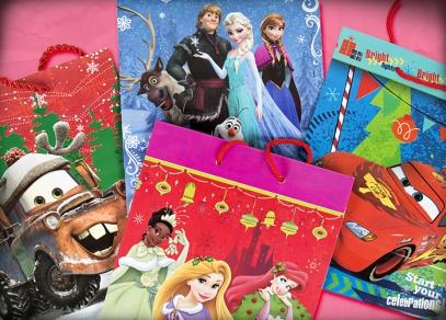 Vánoční dobrodružství oblíbených hrdinů na taškách od ALBI