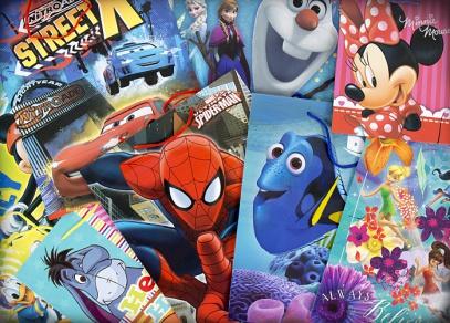 Nespočet designů z dílny Disney na licenčních taškách