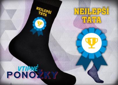 Bavlněné ponožky pro nejlepšího tátu