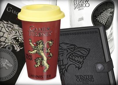 Motivy Game of Thrones na licenčních dárcích