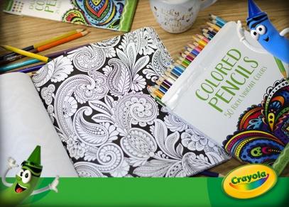 Omalovánky Crayola