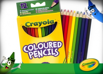 Pastelky Crayola od Albi