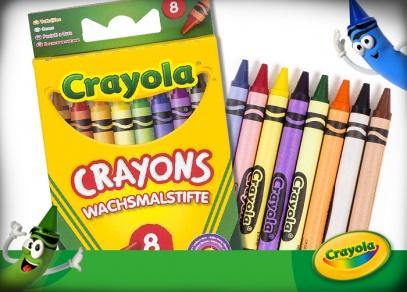 Crayola voskovky od Albi