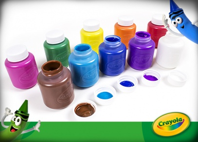 Crayola barvy od Albi