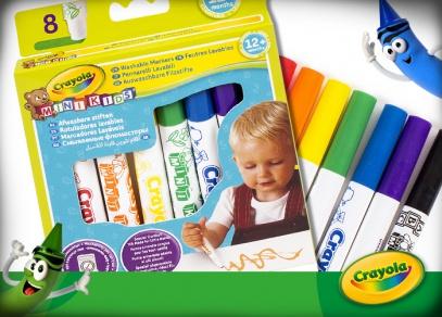 Crayola Mini Kids pro nejmenší děti