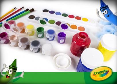 Velké kreativní sety Crayola od Albi