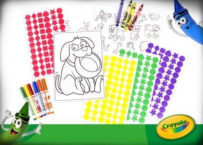 Kreativní sady Crayola od Albi