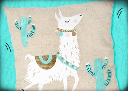 Nevšední design s jihoamerickou lamou
