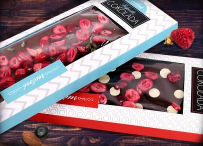 Luxusní dárkové čokolády