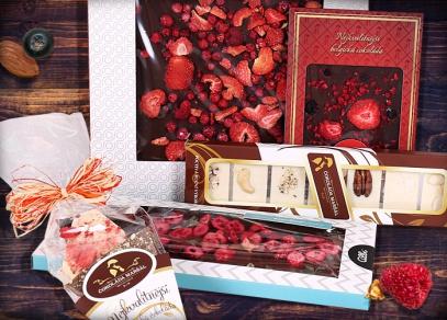 Sortiment ALBI čokolád