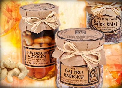 Sušené plody v medu, čaje a další dobroty od Medexu