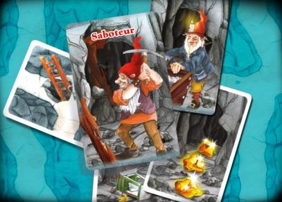 Sabotér - karetní hra od Albi