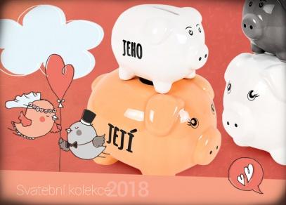 Spravedlivé dělení rodinných financí v humorných keramických pokladničkách
