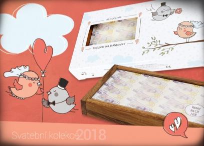 Oblíbený svatební hlavolam - Trezor na bankovky