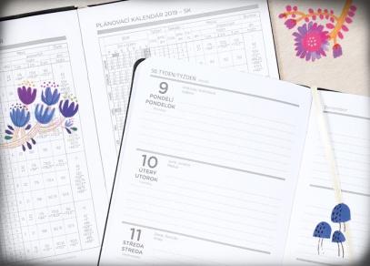 Týdenní plánování a plánovací kalendář